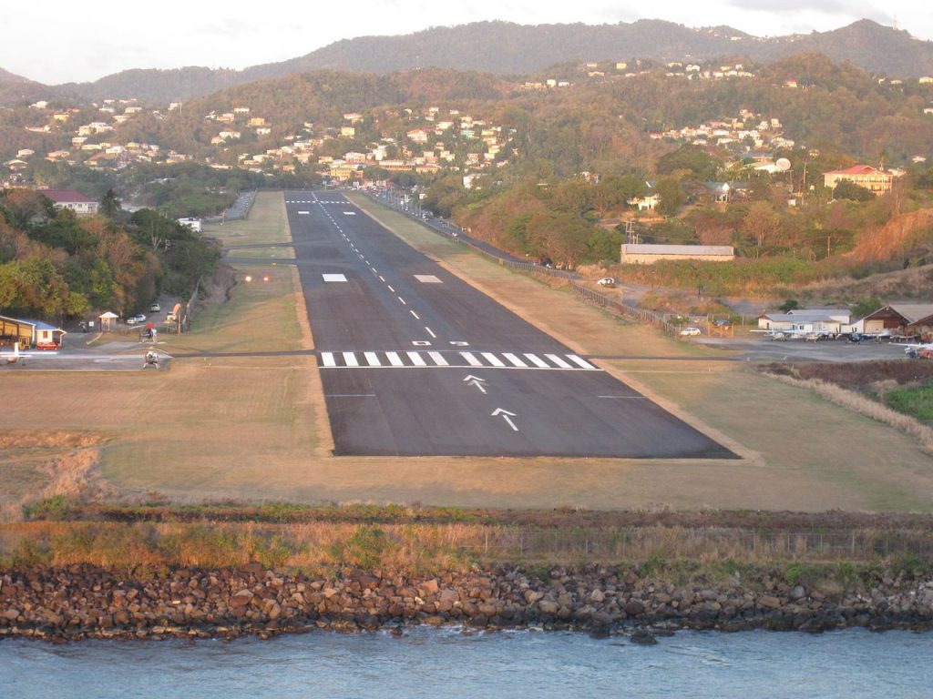 George F.L Charles Airport, Castries St_Lucia